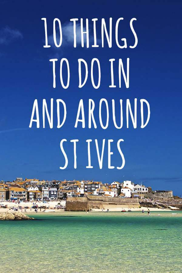 Top ten things to do around St Ives, Cornwall
